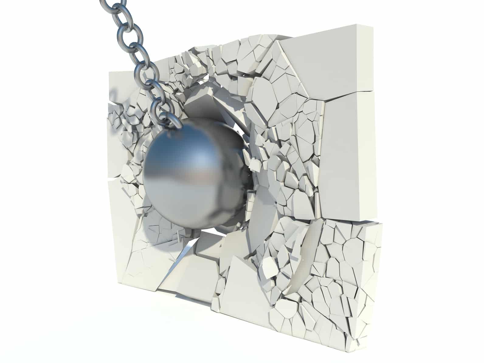 Casser Une Cloison En Brique toutes les étapes pour abattre ou casser une cloison