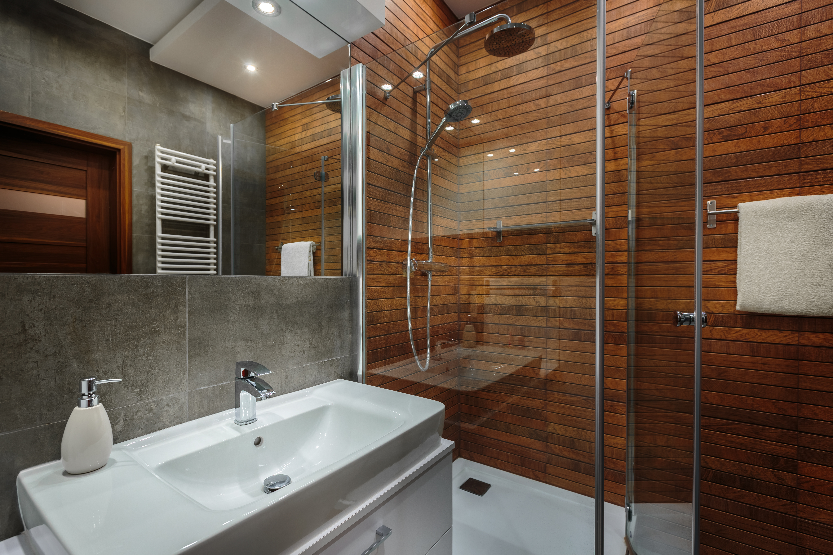Enduit Carrelage Salle De Bain choisir un revêtement mural pour salle de bain