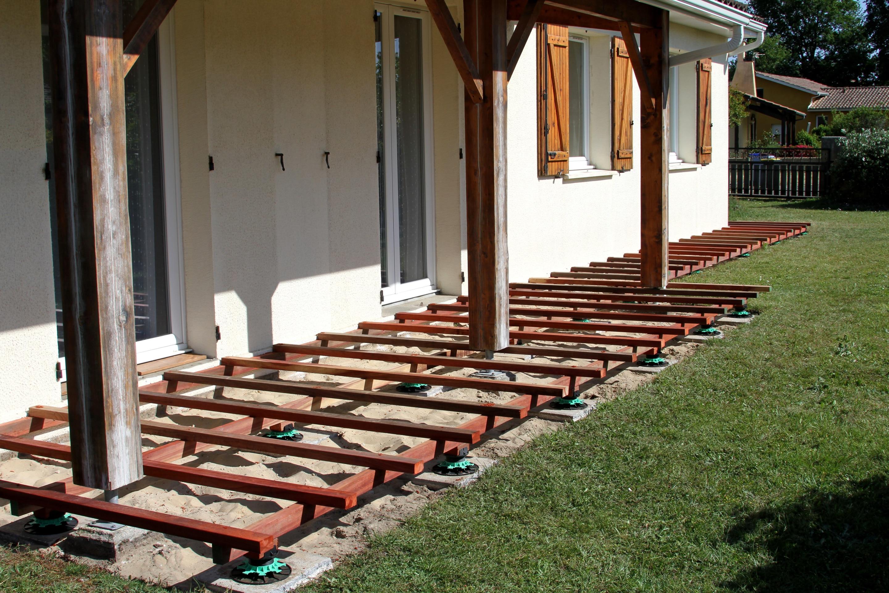 Construction Et Prix D Une Terrasse Sur Plot