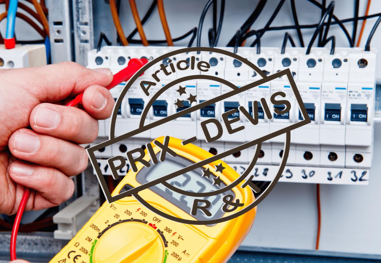 Prix D Une Installation Electrique Complete Et Exemple De Devis