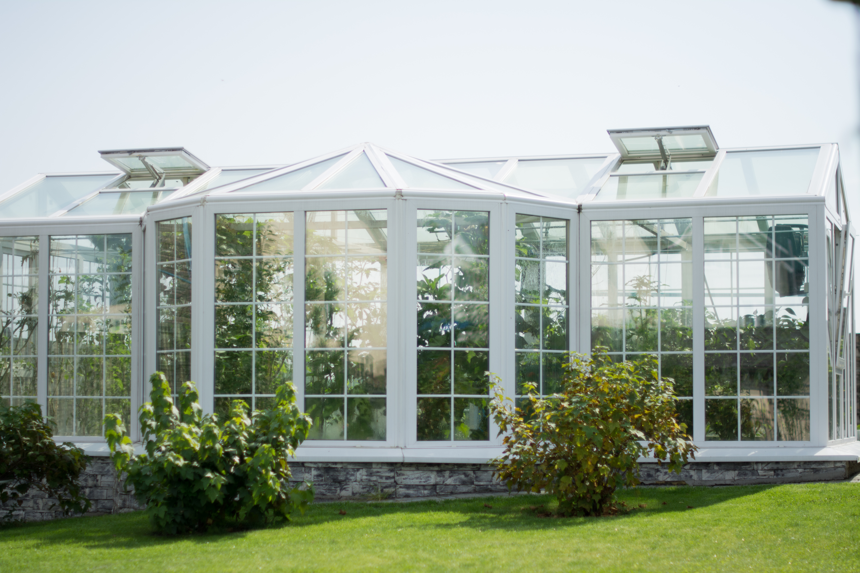 Construire Un Jardin D Hiver