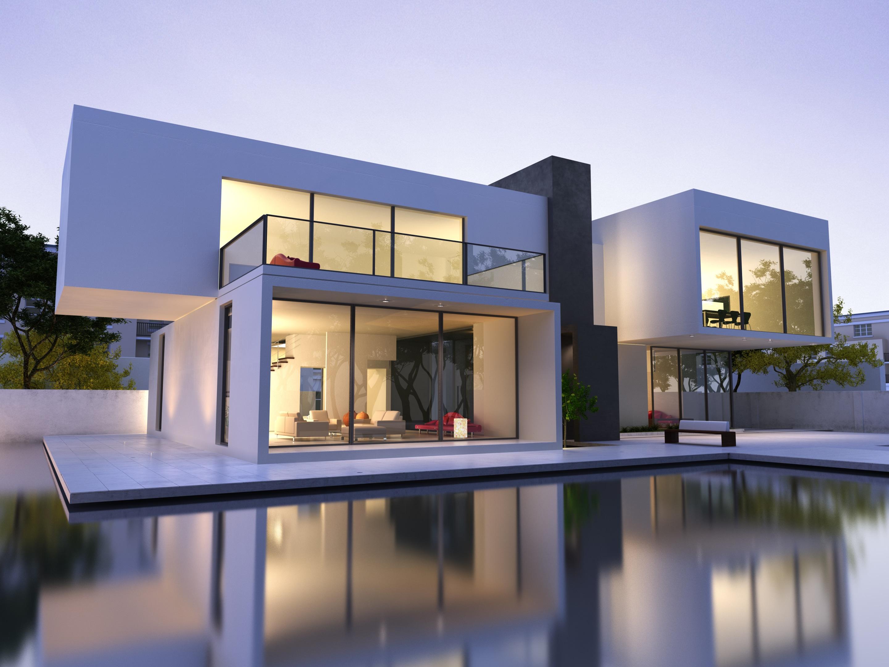 Prix D Une Maison Contemporaine Et De Sa Construction