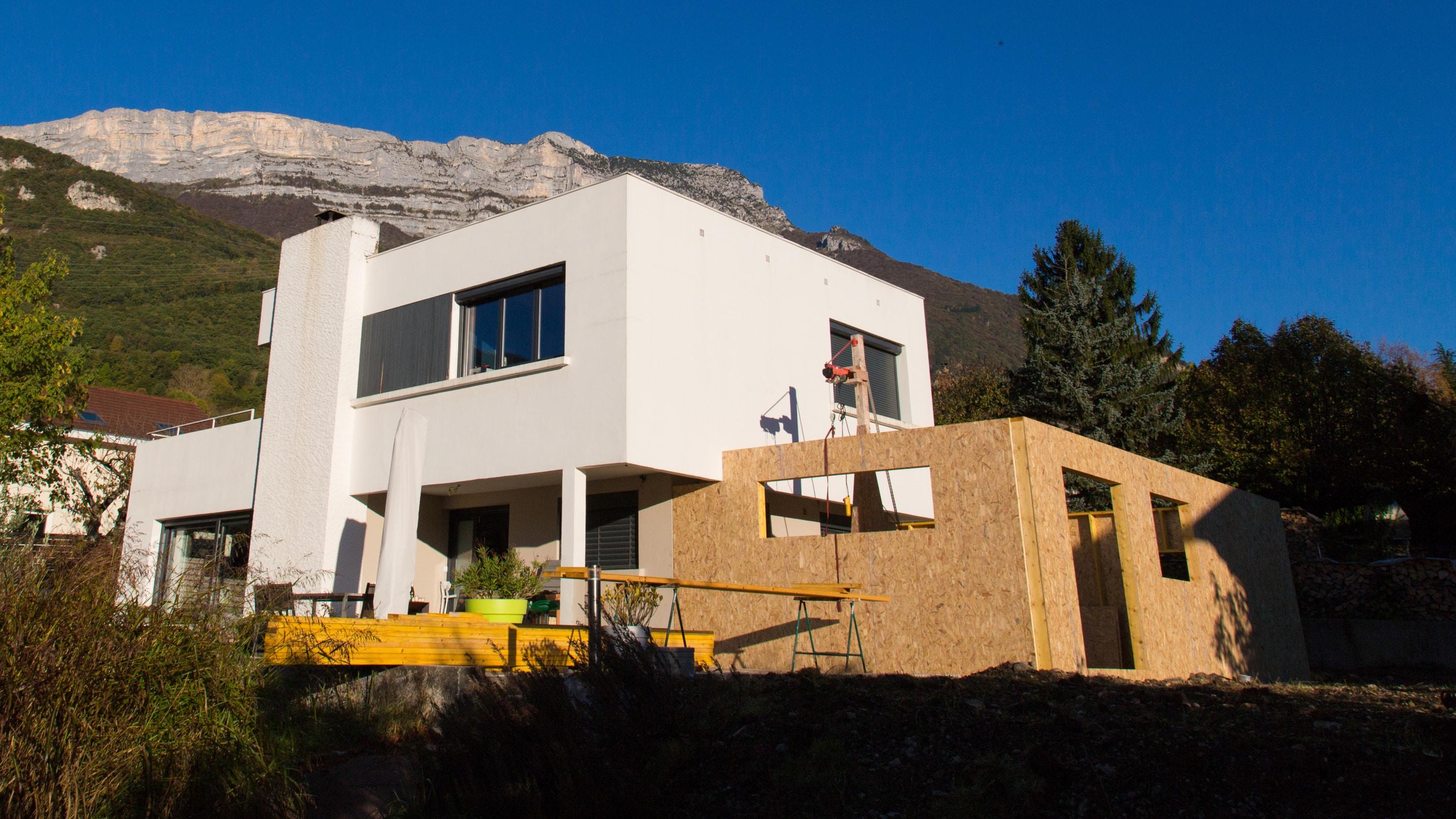 Devis Extension Maison  Montgeron → Agrandissement Bois, Acier, Parpaing